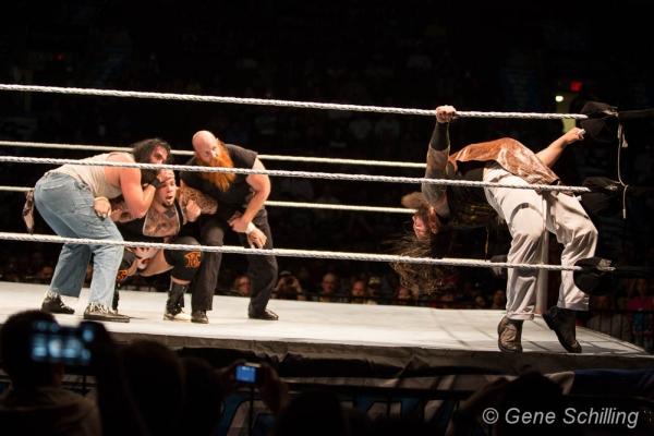 Wwe Wyatt Family Erick Luke Bray Brodus 070913