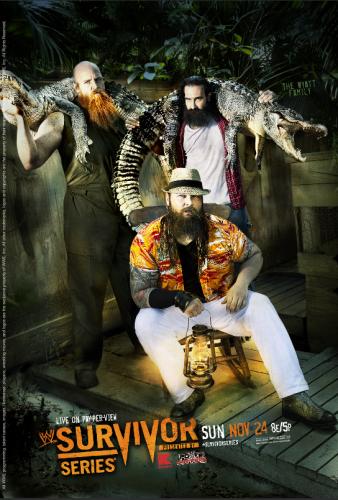 Wwe Survivor Series 2013 Poster