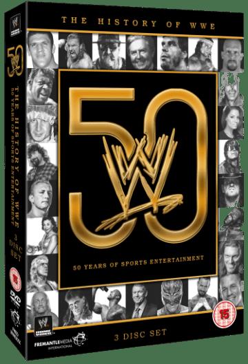 50 Years Of Wwe Dvd