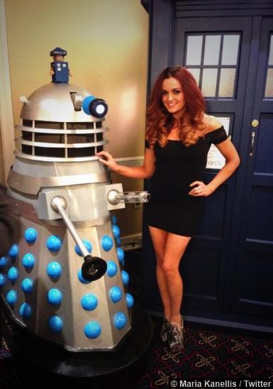 Maria Kanellis Darlek Doctor Who