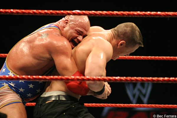 Kurt Angle John Cena