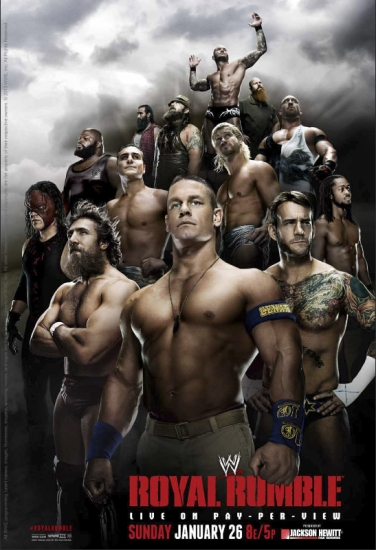 Wwe Royal Rumble 2014 Poster