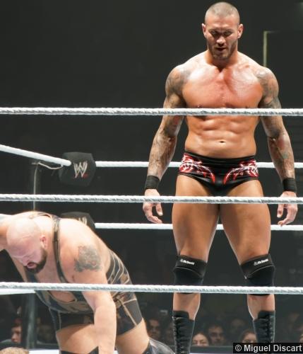 Wwe 23082013 Randy Orton Big Show Standing Evil