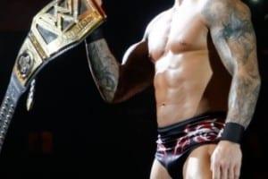 Wwe 23082013 Randy Orton Wwe Title Pose