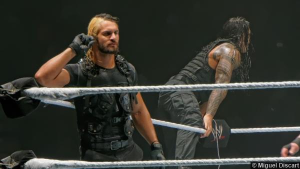 Wwe 23082013 Shield Seth Rollins Roman Reigns