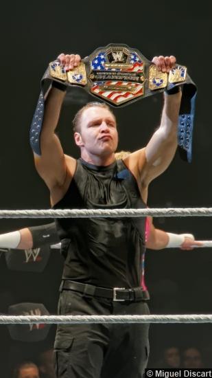 Wwe 23082013 The Shield Dean Ambrose Us Title Belt2