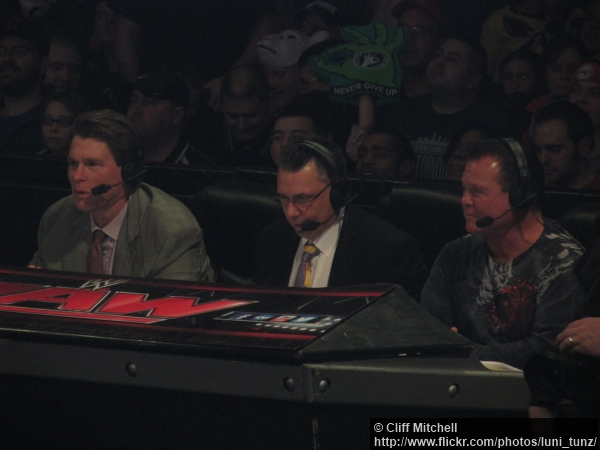 Wwe 27012014 Announce Team Jbl Michael Cole Jerry Lawler