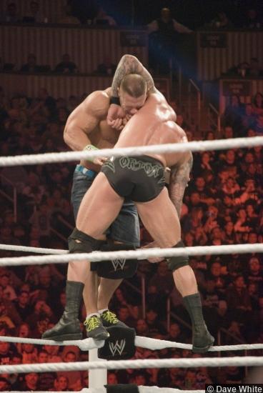 Wwe Royal Rumble 2014 John Cena Randy Orton