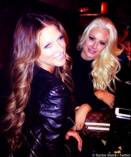 Kelly Kelly and Maryse