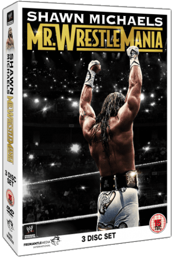 Shawn Michaels Mr Wrestlemania Dvd Set