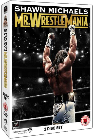 Shawn Michaels Mr Wrestlemania Dvd Set
