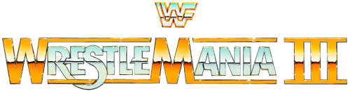 Wrestlemania 3 Logo