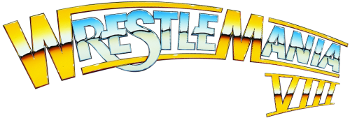 Wrestlemania 8 Logo