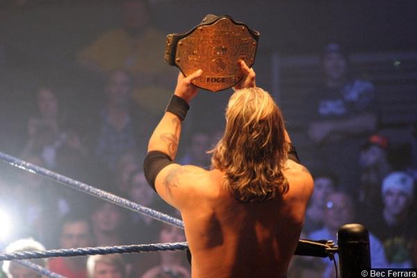 Wwe 0420056 Edge World Title Belt 2