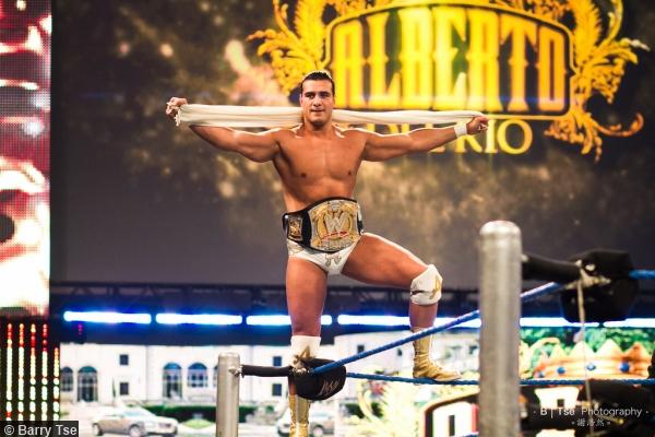 Wwe 2011 Alberto Del Rio Title Belt Ropes