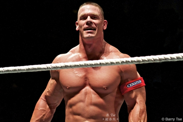 Wwe 2011 Tour John Cena Muscle