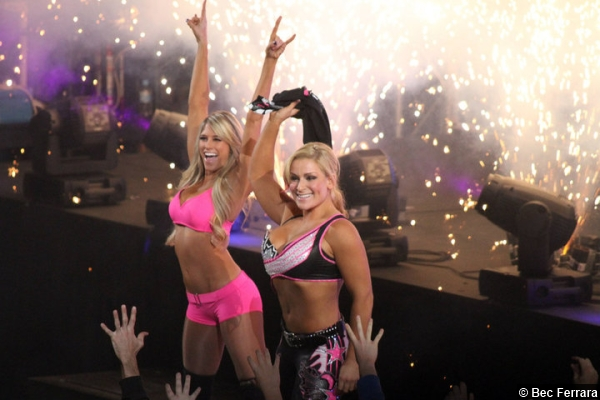 Kelly Kelly and Natalya