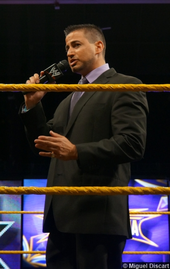 WrestleMania 30 Axxess Justin Roberts