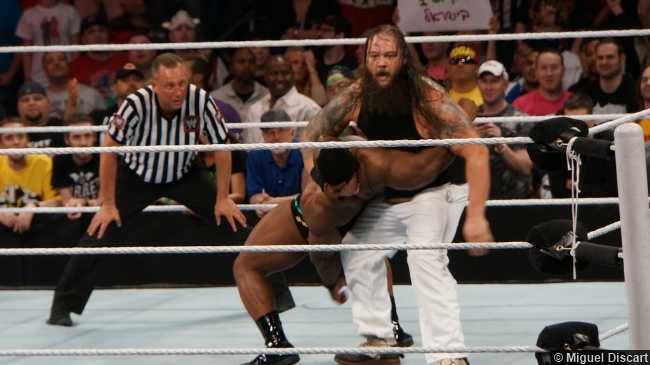 Wwe 07042014 Bray Wyatt Big E