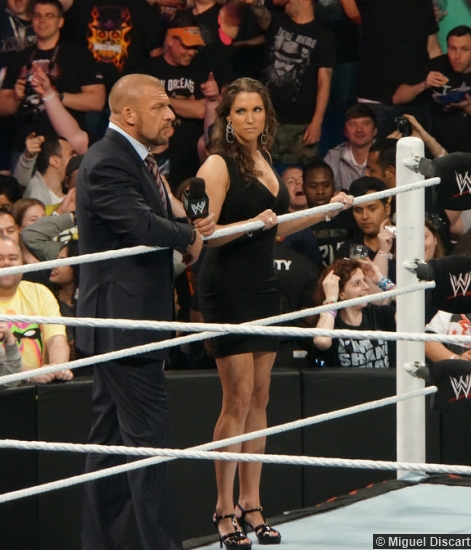 Wwe 07042014 Triple H Stephanie Mcmahon