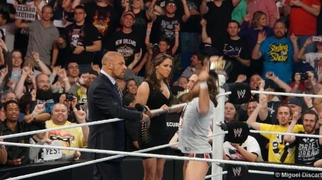 Wwe 07042014a Triple H Stephanie Mcmahon Daniel Bryan
