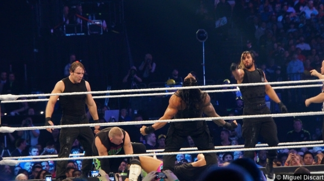 Wwe Wrestlemania 30 Shield New Age Outlaws