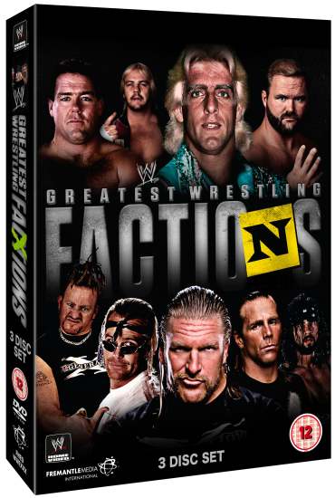Wwe Greatest Factions Dvd