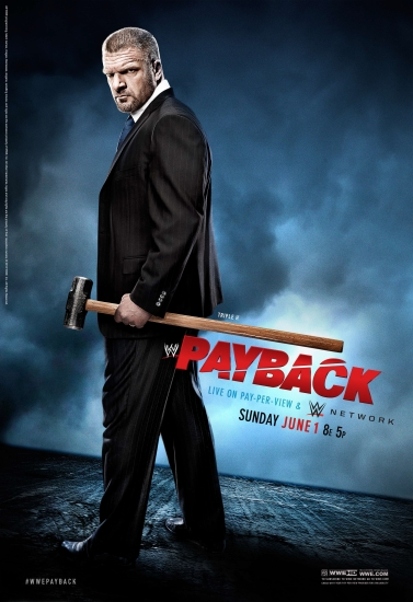 Wwe Payback 2014 Poster