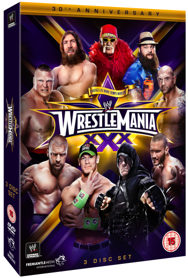 Wwe Wrestlemania 30 Dvd
