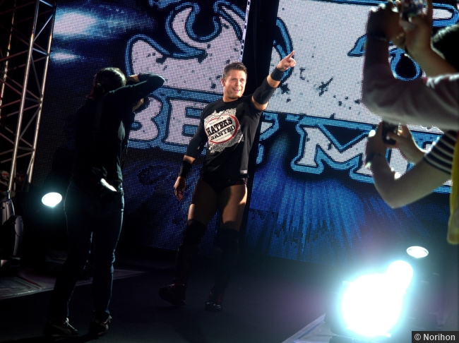 110714 Wwe Miz Pointing