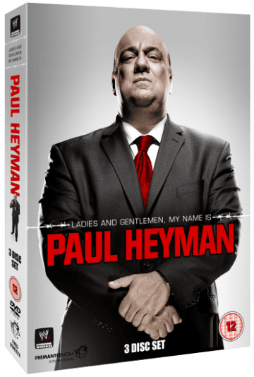Paul Heyman Dvd Set Cover