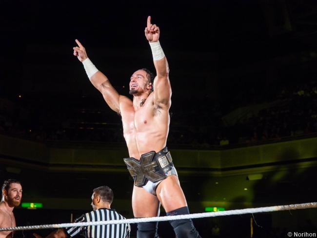 Wwe 110714 Adrian Neville Nxt Title Belt