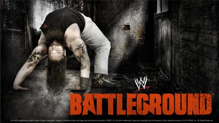 Wwe Battleground 2014 Poster