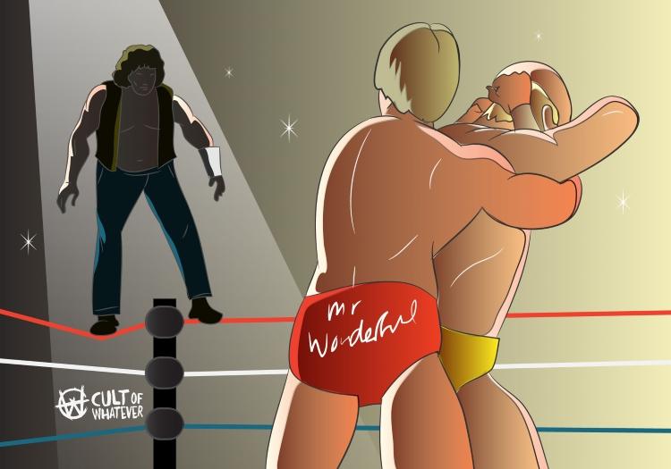 Wrestlemania Cowboy Bob Orton Paul Orndorff Hulk Hogan 2