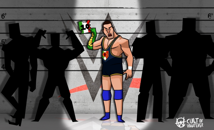 Wwe Santino Marella Cartoon 2