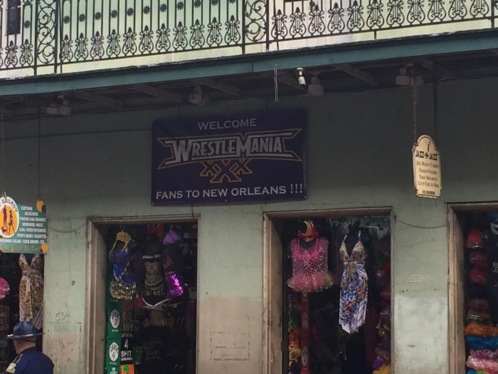 New Orleans Welcome Sign