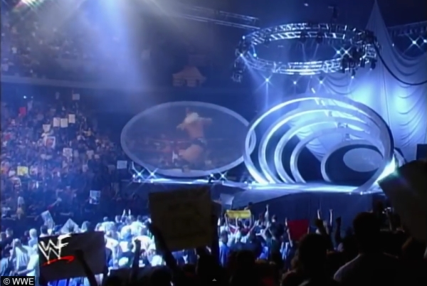 Smackdown Oval Stage Set