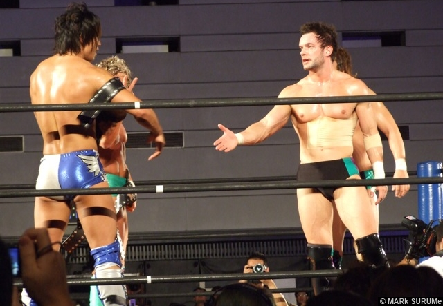 NJPW Prince Devitt Finn Barlor