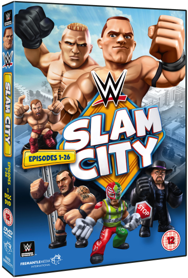Wwe Slam City Dvd