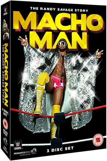 Macho Man Randy Savage Story Dvd Set
