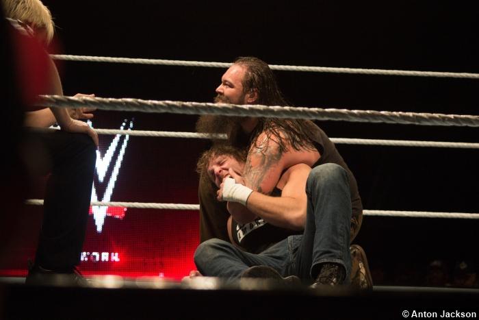 100115 Bray Wyatt Dean Ambrose