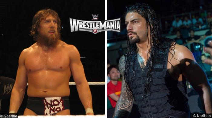 Daniel Bryan Roman Reigns Wrestlemania