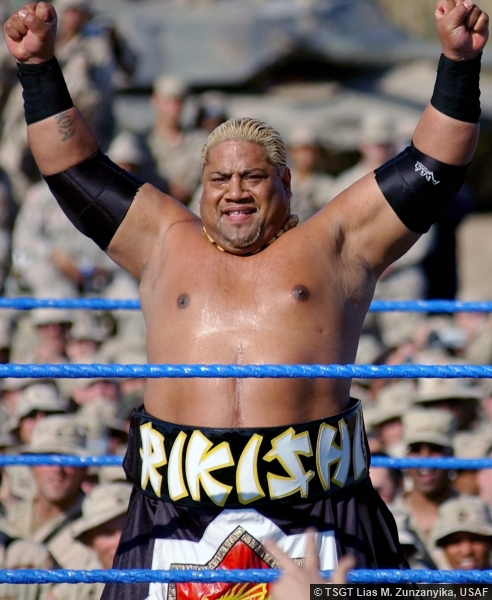Rikishi at Tribute to the Troops