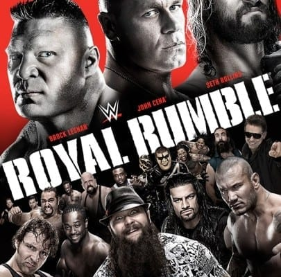 Wwe Royal Rumble 2015 Poster