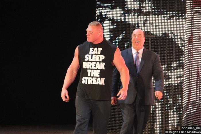 Brock Lesnar Paul Heyman 07042014