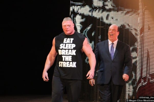 Brock Lesnar Paul Heyman 2 07042014
