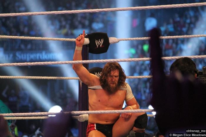 Daniel Bryan Ropes Wrestlemania 30