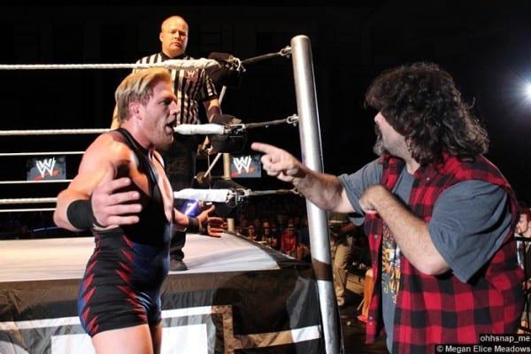 Jack Swagger Mick Foley 2 27052012