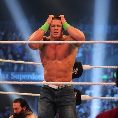 John Cena Frustration Thinking Wrestlemania 30