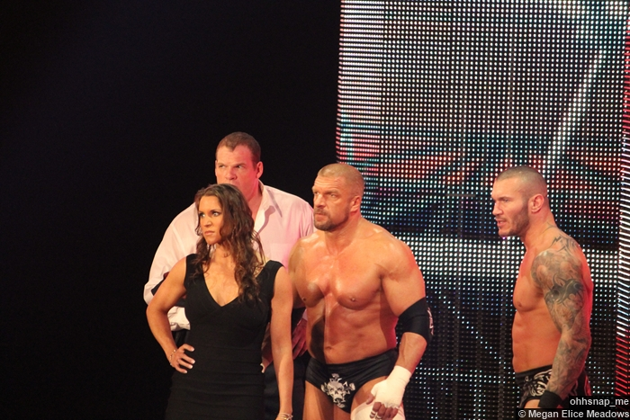 Kane Stephanie Mcmahon Triple H Randy Orton 3 07042014